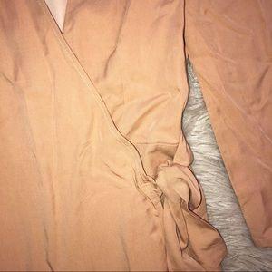 Lovers + Friends Pants - Lovers + Friends Crush Romper in Dusty Pink